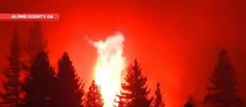 Eighty major wildfires burning in Western United States (Image source: NBC News/YouTube)