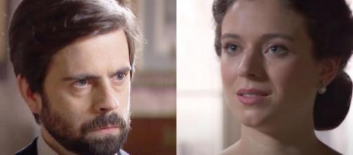 Una vita, spoiler Spagna: Genoveva si allea con Javier per distruggere Felipe.