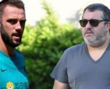 De Vrij potrebbe lasciare l'Inter: Raiola lo avrebbe proposto in Premier League.