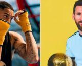 Messi Ballon d'Or le coup de gueule de Tony Yoka - Photos Captures d'écran Instagram