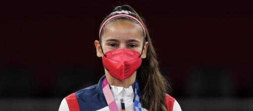 Adriana Cerezo en los Juegos Olímpicos Tokio 2020 (Twitter: Comité Olímpico Español)