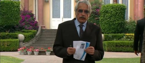 Aníbal descobre a verdade sobre Liliana (Divulgação/Televisa)