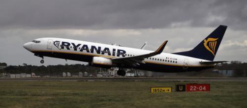 Avión de Ryanair, en imagen (@ryanair)