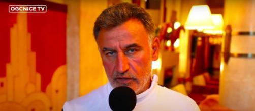 Christophe Galtier capture d'écran vidéo YouTube