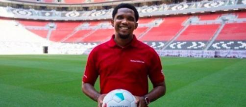 Samuel Eto'o dice admirar mucho a Messi (@samueletoo)