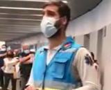Jorge Prieto, el enfermero viral del Wanda (RRSS)
