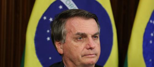 Bolsonaro diz a apoiadores que quem defende AI-5 está exercendo sua liberdade de expressão (Marcos Corrêa/PR)