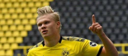 Erling Haaland potrebbe lasciare la Germania nel 2022.