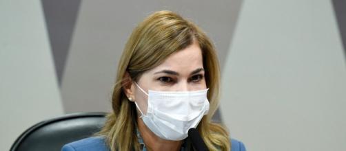 Mayra Pinheiro trava batalha na Justiça contra Omar Aziz (Jefferson Rudy/Agência Senado)