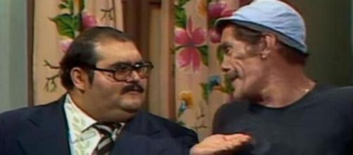 """""""Pague o aluguel"""", dizia repetidamente Sr. Barriga a Seu Madruga em cena célebre de """"Chaves"""" (Reprodução/SBT)"""