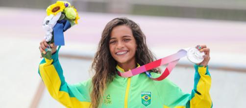 Rayssa Leal conquista medalha de prata (Divulgação/COB)