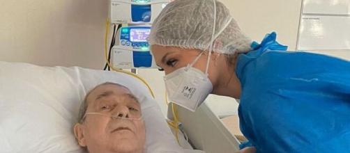 Virgínia Fonseca se emociona com intubação do pai (Reprodução/Instagram/@virginia)