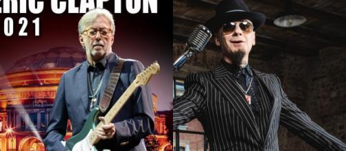 Eric Clapton criticato da J-Ax per la sua posizione sul green pass.