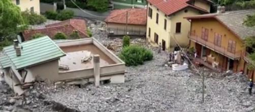 Footage shows devastating aftermath of severe floods in Lake Como (Image source: ClickHeart TV/YouTube)