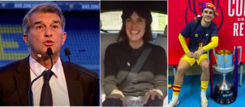 Les confidences de Molina sur Griezmann - Source : captures d'écran YouTube et Instagram