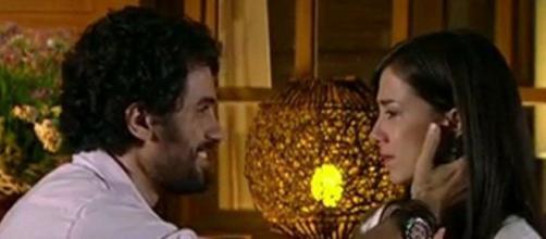 Manuela e Gabriel em 'A Vida da Gente' (Reprodução/TV Globo)