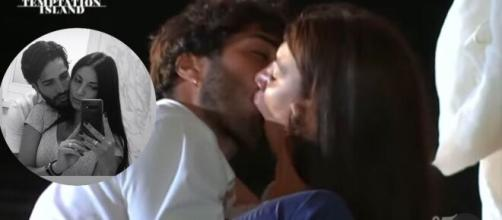 Manuela e Luciano fidanzati dopo Temptation.