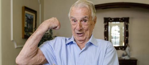 Orlando Drummond, o Seu Peru, morre aos 101 anos (Divulgação/TV Globo)