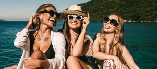 Pocah, Juliette e Carla Diaz curtem fim de semana (Reprodução/Instagram/@carladiaz)