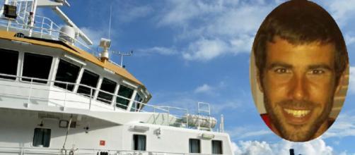 Tomás Gimeno y el buque oceanográfico (RRSS y Flickr)