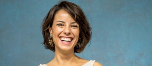 Andréia Horta ganha felicitações (Divulgação)