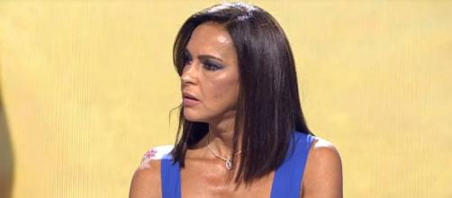 Durante las dos horas de programa Olga Moreno ha intentado desmentir el testimonio de Rocío Carrasco - (Telecinco)