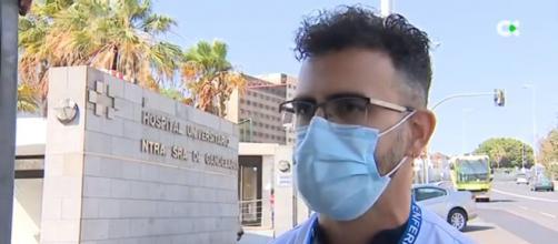El enfermero a criticado a las personas que se han negado a colocarse la vacuna. (Fuente: captura de pantalla de InformativosTvc)