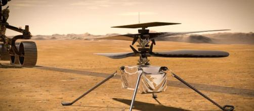 Ingenuity Helicopter reached 1 mile total distance on Mars successfully completing 10th flight (Image source: iGadgetPro/YouTube)