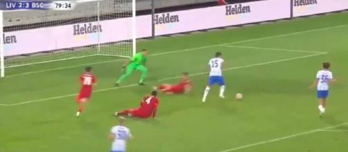 Le but magnifique de Jovetic contre Liverpool - Source : capture d'écran, Youtube