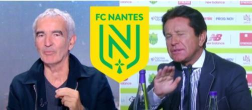 Raymond Domenech revient sur son expérience au FC Nantes - Source : montage Blasting
