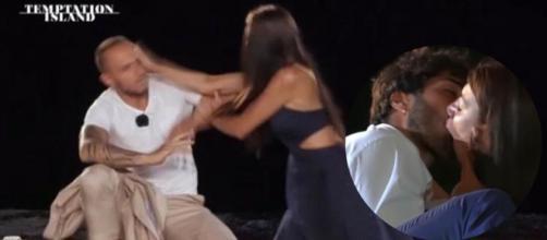 Temptation, Manuela si difende dopo lo schiaffo a Stefano