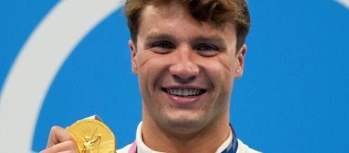 Tokyo Olympics: American Robert Finke wins inaugural men's 800m relay (Image source: Olympics2020/YouTube)