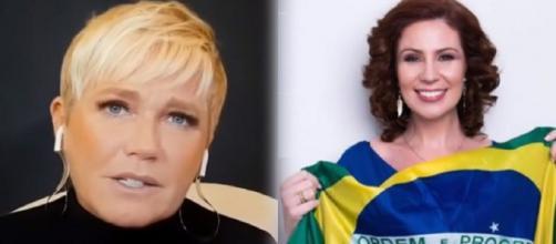 Xuxa moveu um processo no valor de R$ 150 mil contra a deputada. (Fotomontagem)