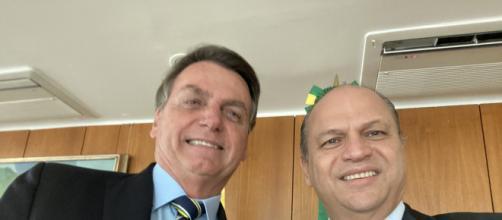 Jair Bolsonaro teria se queixado do aliado Ricardo Barros (Foto: Arquivo Blastingnews)