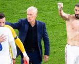 Didier Deschamps et Hugo Lloris en froid à cause de Benzema - Source : capture d'écran, Twitter