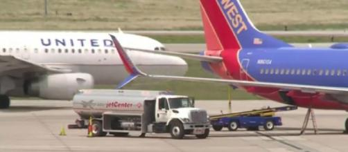 Apparent fuel shortage reported at Colorado Springs Airport, affects flight plans (Image source: NewsChannel 13/YouTube)