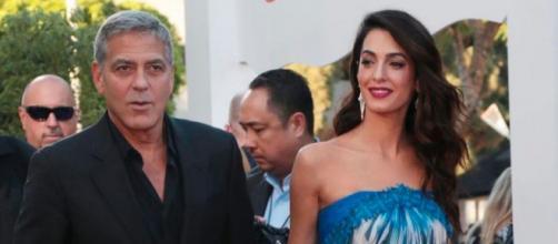 George Clooney y su mujer esperan sus dos segundos hijos (Instagram, amalclooneyofficial1)
