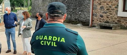 La Guardia Civil seguía los pasos de la banda desde 2019 (Twitter, GCivilCoruna)
