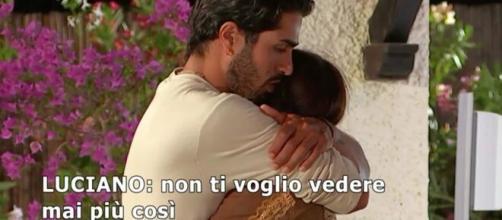 Temptation, Manuela e Luciano, insieme per soldi? Lei: 'Quanto ti danno per stare con me?'.