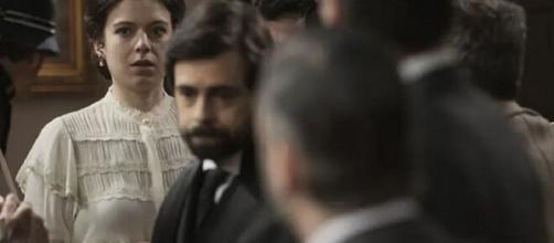 Una vita, anticipazioni Spagna: Felipe in procinto di strangolare Salmeron.