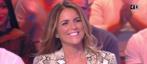 Valérie Bénaïm, chroniqueuse dans TPMP. Source : capture d'écran C8.