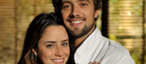 Ana e Rodrigo em 'A Vida da Gente'. (Divulgação/TV Globo)