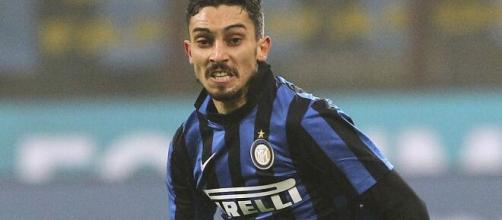 Alex Telles ai tempi della precedente esperienza all'Inter.