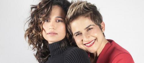 Nanda Costa e Lan Lahn anunciaram gravidez de gêmeas (Reprodução/Instagram/@nandacosta)