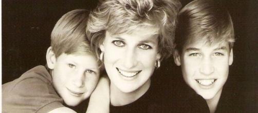 Princess Diana, Prince William and Prince Harry (Image source: Penelopi/Flickr)