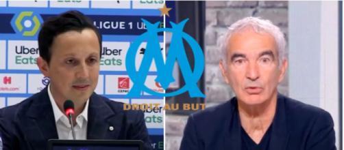 Raymond Domenech tacle les supporters de l'OM - Photo capture d'écran vidéo Youtube