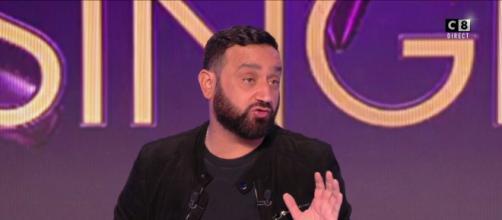 Le présentateur de TPMP Cyril Hanouna. Source : capture d'écran C8
