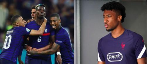 Paul Pogba et Kingsley Coman - Source : Photos Instagram équipe de France et Kingsley Coman