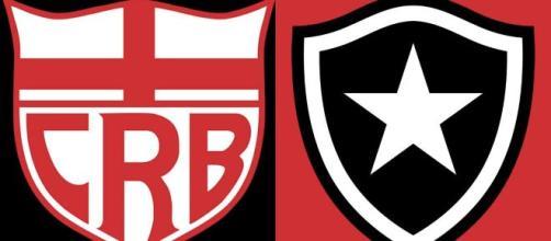 Saiba onde assistir CRB x Botafogo ao vivo (Arte/Eduardo Gouvea)