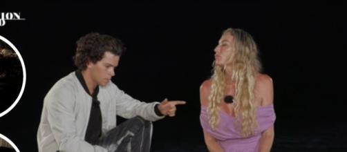Temptation Island, seconda puntata, Augusti ed Eletti si sono detti addio: lui l'ha tradita.